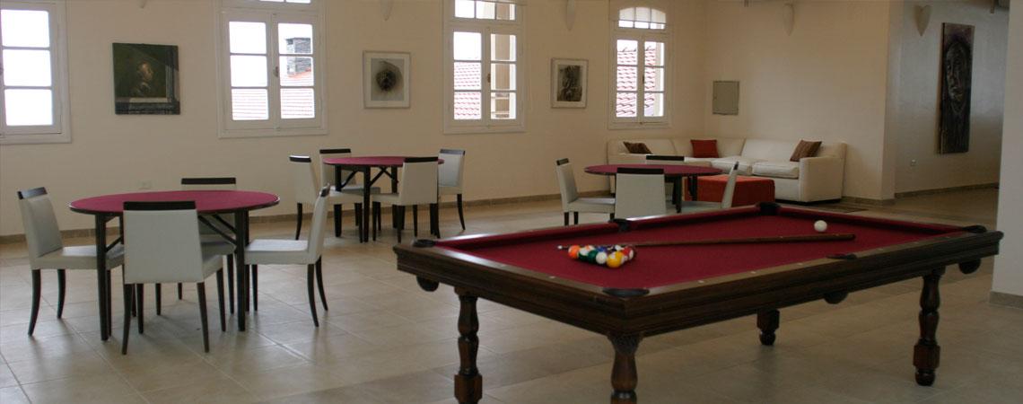 Sala de juegos del Hotel